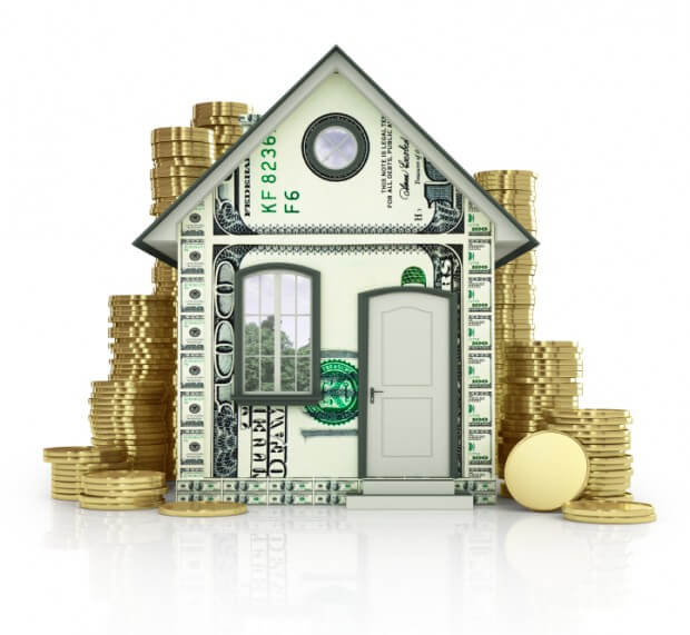 the building of dollar bills with coins homeowners looking to use a reverse mortgage