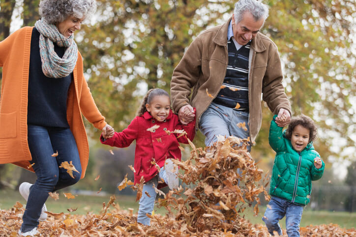 spend time with grandkids in retirement