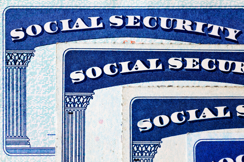 Does exercising stock options affect social security