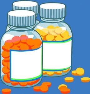 Prescription insurance - umbrella icon