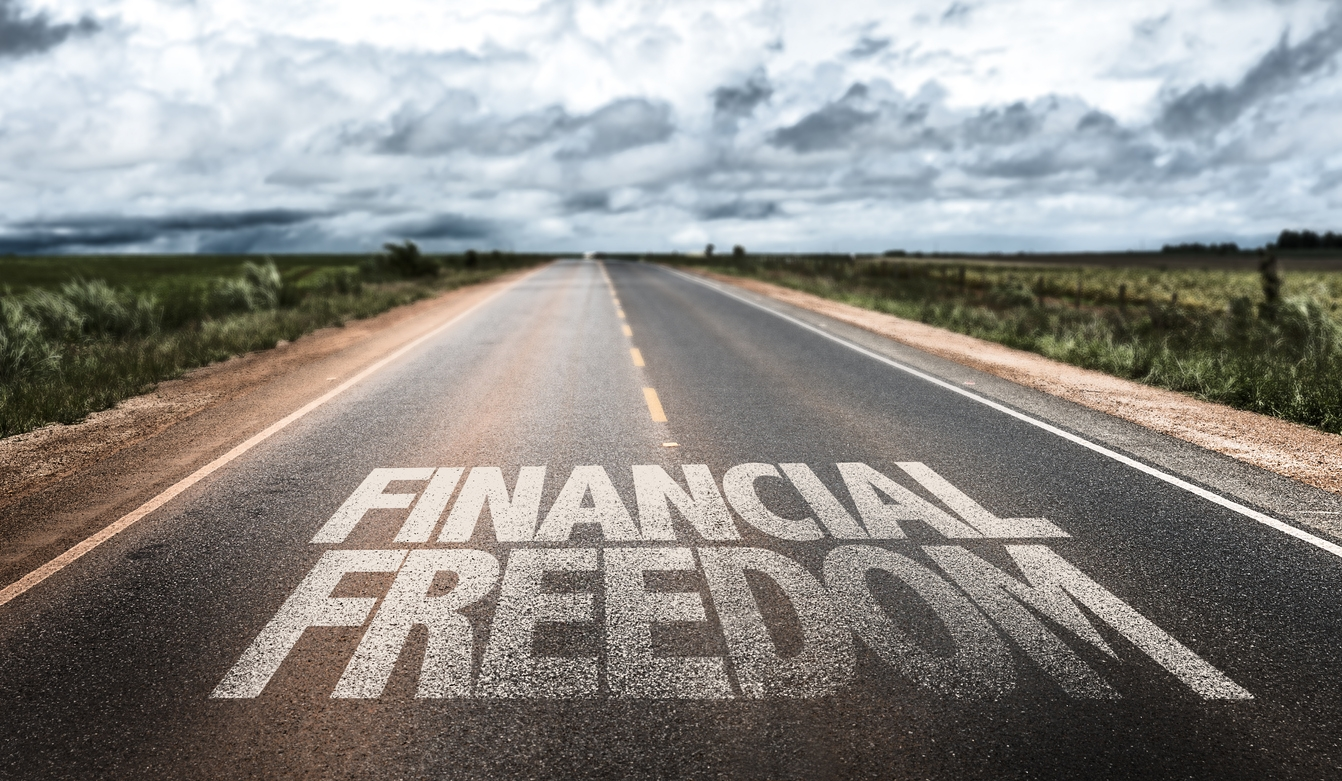 Using an income floor for financial freedom
